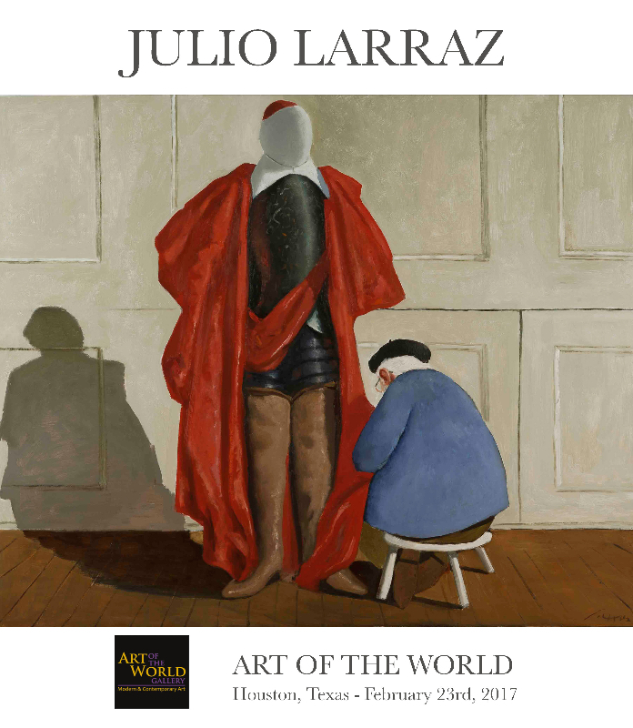 Julio-Larraz-Houston-invitation