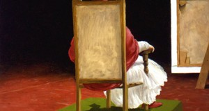 The Sitting Homage to Velazquez